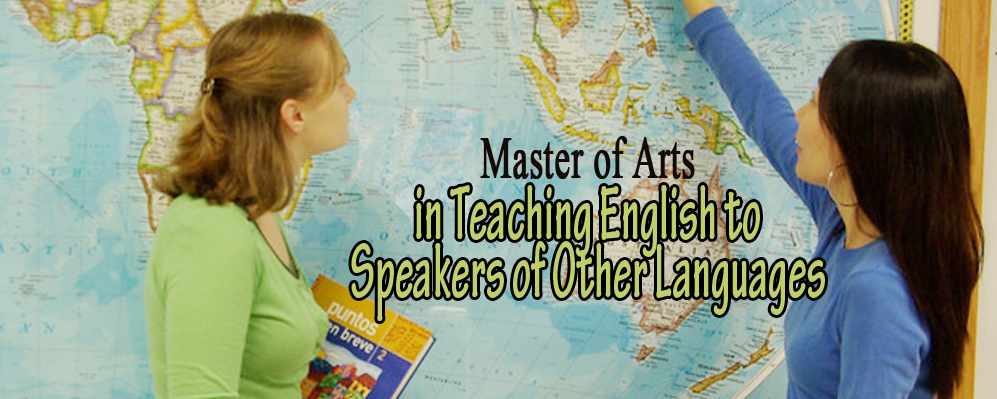 Picture of Master of Arts in Teaching English to Speakers of Other Languages